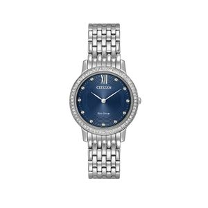 Preview image of Ladies' Citizen Eco-Drive Silhouette Crystal Watch