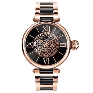 Preview image of Thomas Sabo Rose and Black Karma Watch