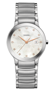 Preview image of Ladies Rado Centrix Steel and Diamond Set Watch