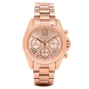Preview image of Ladies Michael Kors Rose Gold Mini Bradshaw Watch