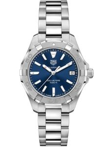 Preview image of Tag Heuer Aquaracer 32mm Blue Dial Quartz Bracelet Watch
