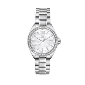 Preview image of TAG Heuer Formula 1 32mm Mother of Pearl Diamond Bezel Stainless Steel Watch