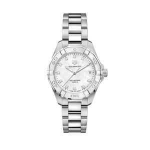 Preview image of Tag Heuer Ladies 32mm Aquaracer Diamond Dot Bracelet Watch