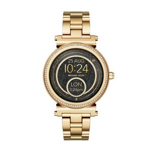 Preview image of Michael Kors Access Sofie Gold Tone Smartwatch