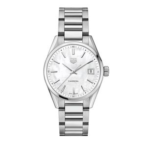 Preview image of Tag Heuer 36mm Ladies Mother of Pearl Carrera Watch