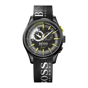Preview image of Hugo Boss Chronograph Rubber Strap Watch