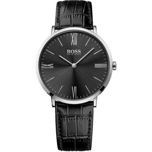 Preview image of Hugo Boss Men's Leather Strap Watch