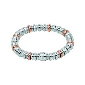 Preview image of Links of London Sterling Silver And Rose Gold Vermeil Sweetheart Bracelet