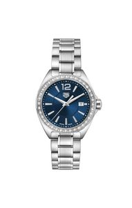 Preview image of TAG Heuer F1 Blue 32mm Diamond Bezel Ladies Bracelet Watch