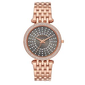 Preview image of Michael Kors Darci Rose Gold Stone Set Bracelet Watch
