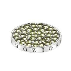 Preview image of Hot Diamonds Emozioni 25mm Nature Peridot Coin