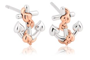 Preview image of Clogau Hope House Anchor Stud Earrings