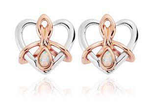 Preview image of Clogau Dwynwen Opal Stud Earrings