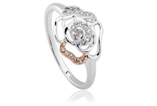 Preview image of Clogau Royal Roses® White Topaz Ring