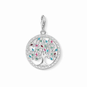 Preview image of Thomas Sabo Colourful Tree Of Love Charm
