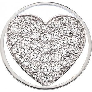 Preview image of Hot Diamonds Emozioni Ice Sparkle Heart Coin