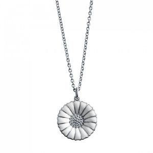 Preview image of Georg Jensen Sterling Silver Daisy Necklace