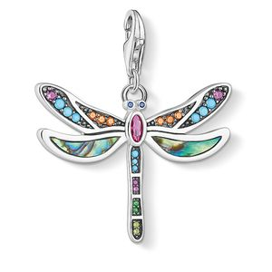 Preview image of Thomas Sabo Multi Coloured Dragonfly Charm