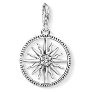 Preview image of Thomas Sabo Cubic Zirconia Sun Disc Charm