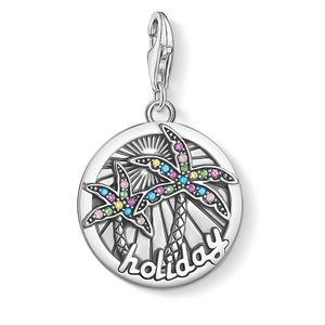 Preview image of Thomas Sabo Holiday Stone Set Palm Tree Charm