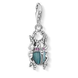 Preview image of Thomas Sabo Stone Set Blue/Pink Bug Charm