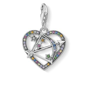 Preview image of Thomas Sabo Multi Stone Cupids Arrow Charm