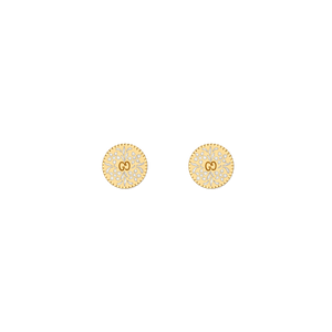 Preview image of Gucci Icon Blooms Yellow Gold Earrings