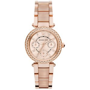 Preview image of Michael Kors Pink Parker Watch