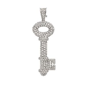Preview image of Theo Fennell Diamond Key Pendant
