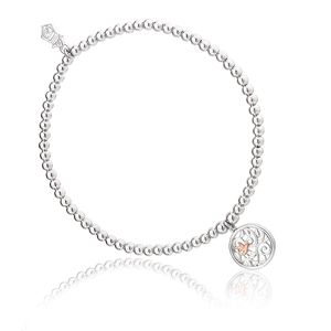 Preview image of Clogau Hummingbird Affinity Beaded Bracelet