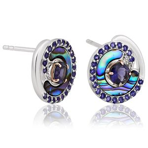 Preview image of Clogau Ebb and Flow Silver Earrings