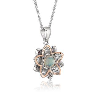 Preview image of Clogau Lotus Opal Pendant