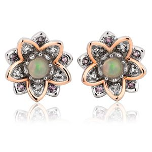 Preview image of Clogau Lotus Opal Earrings