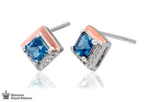 Preview image of Clogau Kensington Love Story Topaz Earrings