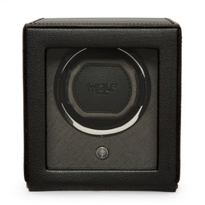 Preview image of WOLF Cub Black Watch Winder With Cover