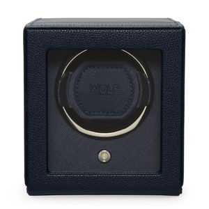 Preview image of WOLF Cub Navy Watch Winder With Cover