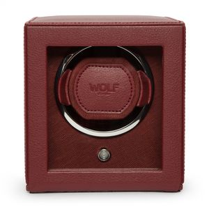 Preview image of WOLF Cub Bordeaux Watch Winder With Cover