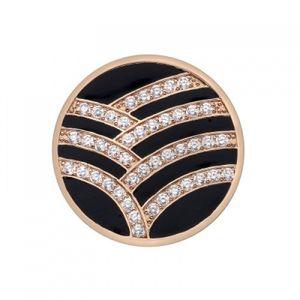 Preview image of Hot Diamonds Emozioni Rose Art Deco Curve Coin