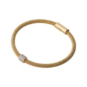 Preview image of Links of London Star Dust Yellow Gold Plate Bead Bracelet