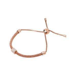 Preview image of Links of London Starlight 18kt Rose Gold Vermail And Sapphire Bead Bracelet