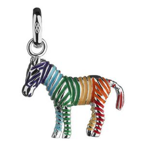 Preview image of Links of London Sterling Silver Rainbow Zebra Charm