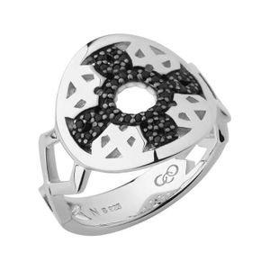 Preview image of Links of London Timeless Sterling Silver and Black Sapphire Ring