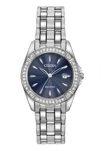 Preview image of Citizen Ladies Silhouette Crystal Eco-Drive Watch