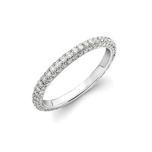 Preview image of Theo Fennell White Gold Diamond Spangle Ring Size O