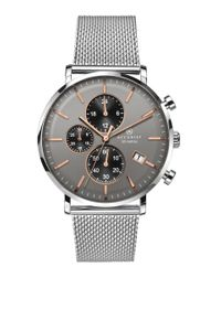 Preview image of Accurist Men's Stainless Steel Grey Dial Chronograph Bracelet Watch
