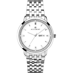 Preview image of Accurist Classic White Dial Mens Watch