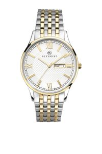 Preview image of Accurist Men's Stainless Steel and Gold Plated Day/Date Bracelet Watch