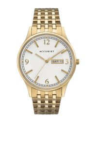Preview image of Accurist Men's Gold Plated Day/Date Bracelet Watch