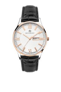 Preview image of Accurist Men's Stainless Steel With Rose Gold Detail Strap Watch
