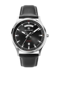 Preview image of Accurist Men's Black Dial Leather Strap Watch